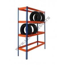 Стеллаж металлический для колес и шин Профи-Т 1015х455х2500 K/4