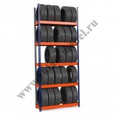 Стеллаж металлический для колес и шин Профи-Т 1015х455х3000 K/5