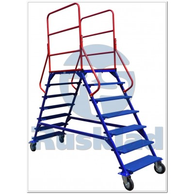 Лестница сборно-разборная ЛР 6.2 (6 ступеней, 2 марша)