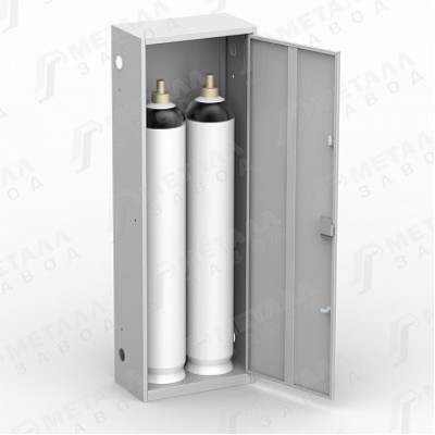 Шкаф для газовых баллонов на 40 литров (ШГР 40-2)