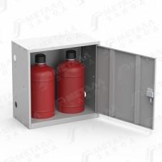 Шкаф для газовых баллонов на 27 литров (ШГР 27-2)