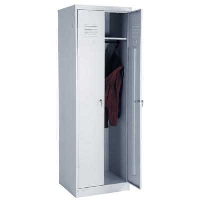 Шкаф для одежды ШР 22-600 (сварной) для гаража и дачи