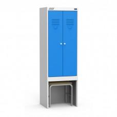 Шкаф для одежды ШРЭК 22-530 ВСК для гаража и дачи