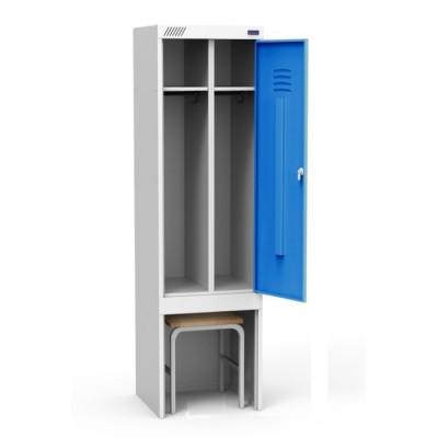 Шкаф для одежды ШРЭК 21-530 ВСК для гаража и дачи