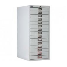 Многоящичная картотека для документов ПРАКТИК MDC-A3/910/15