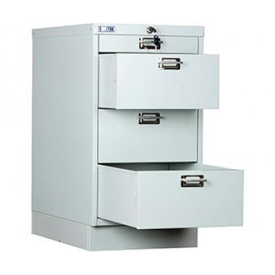 Многоящичный шкаф для документов ПРАКТИК MDC-A3/650/4