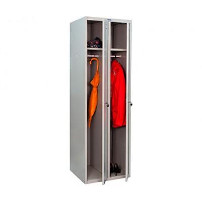 Шкаф для раздевалок ПРАКТИК LS-21-60 для гаража и дачи
