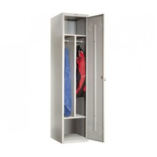 Шкаф для раздевалок ПРАКТИК LS-11-40 D для гаража и дачи