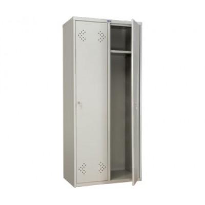 Шкаф для раздевалок ПРАКТИК LS-21-80 для гаража и дачи