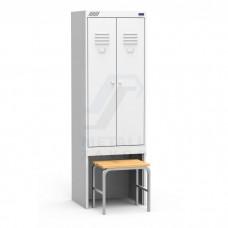 Шкаф для одежды ШРК 22-600 ВСК для гаража и дачи