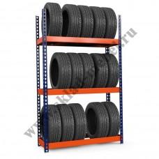 Стеллаж металлический для колес и шин Профи-Т 1015х455х2000 K/3