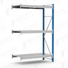 Дополнительная секция стеллажа металлического среднегрузового SGR-V 1283-2,0 DS